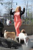 Coco Austin and Spartacus