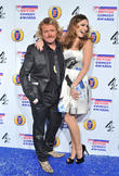 Kelly Brook and Leigh Francis