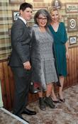 Alicia Goranson, Michael Fishman and Roseanne Barr