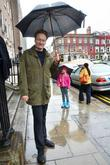 Conan O'brien and Neve
