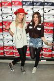 Gillian Zinser, Lucy Hale Converse West Coast Flaship...