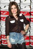 Lucy Hale Converse West Coast Flaship Opening in...