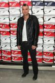 Mark Salling Converse West Coast Flaship Opening in...