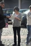 Kym Marsh 'Coronation Street' cast outside Granada Studios...