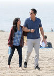 Courteney Cox, Josh Hopkins, Cougar Town, Venice Beach