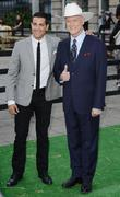 Jesse Metcalfe and Larry Hagman at the launch...