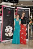 Dannii Minogue, Tabitha Somerset Webb and Westfield Shopping Centre