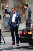 Terrence Howard on the set of 'Dead Man...