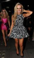 Amanda Harrington 'Desperate Scousewives' stars enjoy a night...