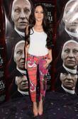 Audrey Hamilton Premiere of 'Devil Inside' held at...