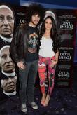 Carl Shabaan and Audrey Hamilton Premiere of 'Devil...