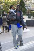 Djimon Hounsou And His Son Kenzo...