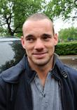 Wesley Sneijder Members of the Holland football squad...