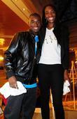Venus Williams and contestant winner Billy Myrtil...