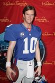 Eli Manning and Madame Tussauds