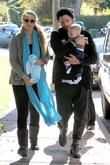 elizabeth berkley and husband greg lauren take thei