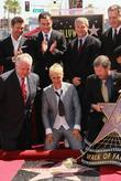 Ryan Seacrest, Ellen Degeneres, Jimmy Kimmel, Star On The Hollywood Walk Of Fame