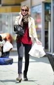 Emma Roberts shopping for antiquities near her home...