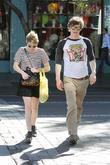 Emma Roberts, Evan Peters, Halloween, West Hollywood