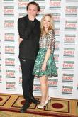 Jamie Campbell Bower and Joanne Froggatt