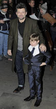 Andy Serkis and Son