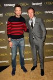 Joel McHale and Damian Lewis