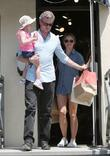 Eric Dane and Rebecca Gayheart shopping in Brentwood...