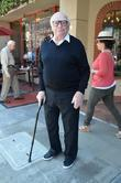 Ernest Borgnine spotted leaving the doctors office on...