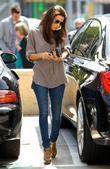 Eva Longoria leaves an office in Beverly Hills...