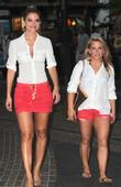 Maria Menounos and Shawn Johnson