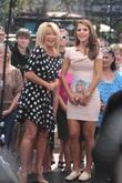 Suzanne Somers and Maria Menounos