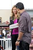 Stacy Keibler and Mario Lopez