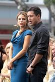 Maria Menounos and Mario Lopez