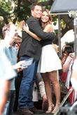 Michael Weatherly, Maria Menounos
