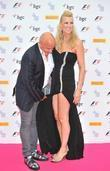 Aldo Zilli and wife Nikki The F1 Party...