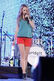 Bridgit Mendler   performs at Molson Canadian...