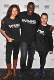 Minnie Driver, Adewale Akinnuoye-agbaje and Jaime Winstone