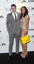 Adam Johnson and girlfriend attend Fashion Kicks at...