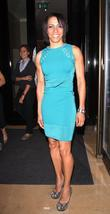 Dame Kelly Holmes at the screening of 'Fast...