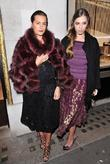 Amber Le Bon and Yasmin Le Bon Celebrating...