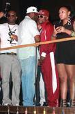 50 Cent, Curtis Jackson and Floyd Mayweather Jr.