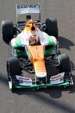 Jules Bianchi and Team Force India Mercedes