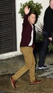 Olly Murs Celebrities leaving Fountain Studios London, England