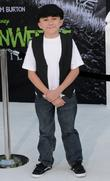 Atticus Shaffer Disney's 'Frankenweenie' premiere at the El...