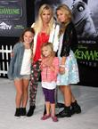 Jennie Garth and her family Disney's 'Frankenweenie' premiere...