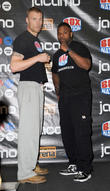 Freddie Flintoff, Richard Dawson, Weigh In, Hilton Hotel Manchester and Friday