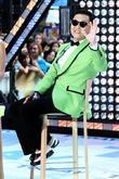 South Korean rapper PSY  performs Gangnam Style...