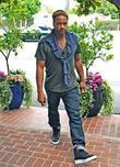 actor gary dourdan seen shopping at fred segal on m