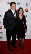 Anthony LaPaglia; Gia Carides G'Day USA Black Tie...