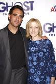 Bobby Cannavale and Edie Falco Broadway opening night...